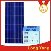 We are manufacturer of solar power generator output 220V AC 12V DC 5V DC with battery