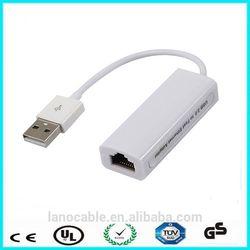 Factoty price 10/100 mbps ethernet lan network rj45 adapter