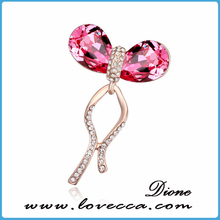 beautiful individual brooches ladies fashion decoration best costume exquisite boutique Made with Austrian Crystal