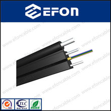 GJYXCH FTTH Fig8 outdoor 2 core FTTH cable with steel wire strength member