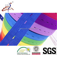 50mm Colored Elastic Button Loop Tape