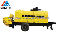 best selling concrete pump for sale in America 20m3/h Max. output 6Mpa pumping pressure Chinese Machine alibaba supplier
