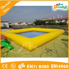 2015 customized inflatable spa pool/inflatable pool toys/inflatable pool slides for inground pools
