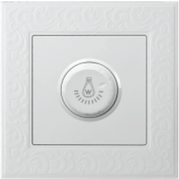 LED dimmer switch 1000W for 86 socket rotary switch