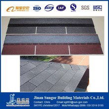 Villa Tile Fish-Scale Asphalt Shingle Decorative Roof Tile
