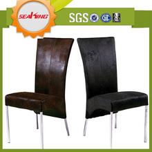 di lusso del metallo tessuto per tappezzare sedia della sala da pranzo