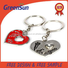 Popular in China latest sport metal medal keychain
