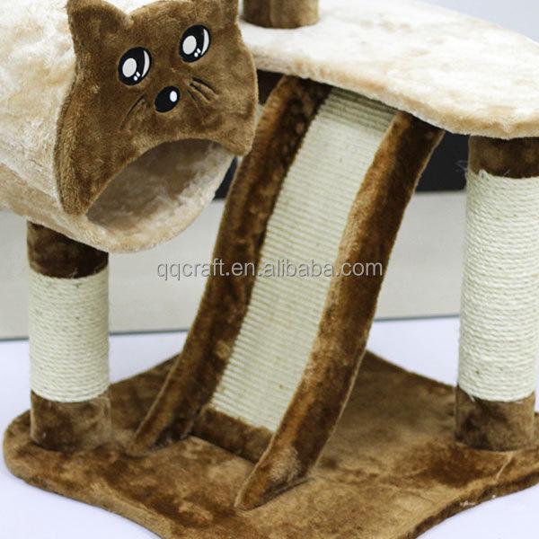 arbre chat arbre chat de luxe en bois jouets pour animaux domestiques id de produit. Black Bedroom Furniture Sets. Home Design Ideas