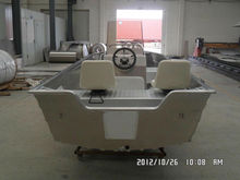 deep-v welded steering aluminum fishing boat with center contral