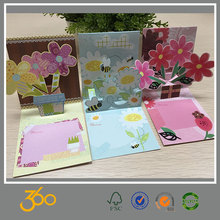 custom printing greeting card manufacturer,fancy children's day greeting card