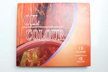 18 Color 12ML Pass CE Professional Artists Oil Color