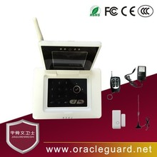JGW-1103CP2 kit sell 480P P2P fire home security wifi alarm