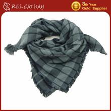 2015 checked plaid wrap scarf fashion