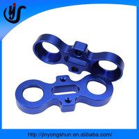 Color anodized aluminum cnc milling parts custom car accessories