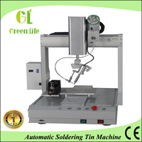 Bench top type PCB automatic soldering tin equipment/Spot welding machinery/Drag welding robot