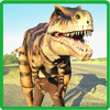 Life size walking with realistic dinosaur costume for sale