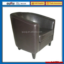 Y 5998 Single Fancy Leather Sofa Chair Tub Chair Imported from China