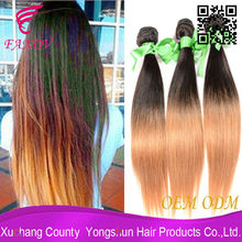 aliexpress fr deux couleurs ombre armure de cheveux humains brésiliens vison véritable cheveux brésiliens