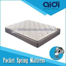 King Size Pocket Spring Foam Sponge Mattress High Class Chinese Furniture Made In Shenzhen AI-1108