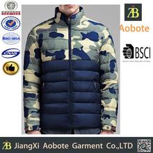Cheap Custom Long Sleeve Man Camo Winter Jacket