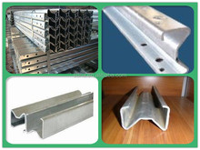 galvanized steel pipe price for highway guardrail used