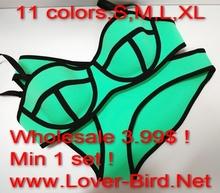 Sex red plaid dyed stretch nylon spandex fabric for neoprene bikini triangl 2015