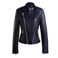 Latest design lady motorcycle jacket