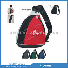 Promotion price wholesale students school triangle backpack Travel bag outdoor bag triangle bag