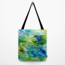 PP non woven tote bag customized art design factory sale