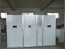 15000 chicken eggs commercial hatchery combined setter and hatcher