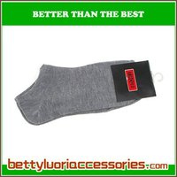 men cotton colored ankle sock