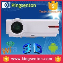 Full hd 1080p Android4.2 dual core wifi 3D LCD projector 1280*800 resolution led mini projector for samsumg galaxy s4
