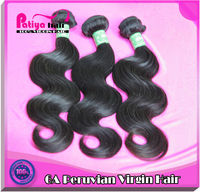 Sold well in 2012 & new arrival peruvian body wave hair export products