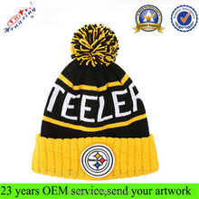 High Quality Hand Made Crochet Hats Beanie with Flower