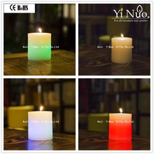 Unique Happy magic birthday LED paraffin candle wax candle