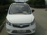 China open roof white electric car