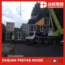 Promotion! DAQUAN High Quality Mobile prefab container house finished rooms
