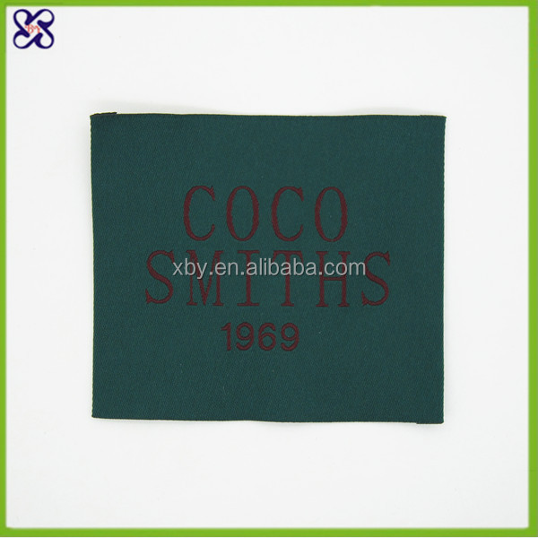 Garment,Shoes,Bags Use and Main Labels Label Type cheap woven garment labels