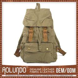 Popular Design Oem Canvas Military Computer Backpack