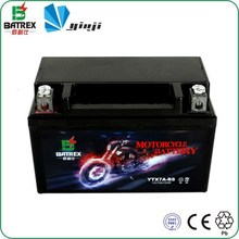 Batrex 7ah Small 12 Volt Battery Mini 12v Rechargeable Battery For Motorcycle