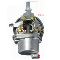 1pcs 2 Stroke Engine Carb Carburetor Motor For 50 60 66 80cc Motorcycle Moped