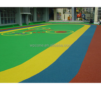rubber flooring for outdoor sports court