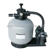 water pump PIKES fiberglass pool sand filter