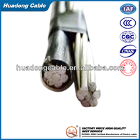 700mm overhead al/pvc Aerial Bundled Cable low voltage twisted ABC cable