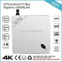 High Grade Original amlogic hd sex pron video tv box hd xbmc av/rj45 support 4k and H.265
