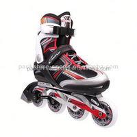 New soft boot two wheel roller skate