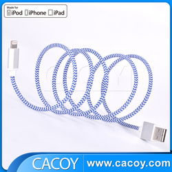 Wholesale for iPhone 6 reversible design 8pin MFi USB cable support latest IOS9