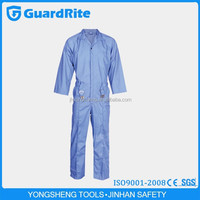 GuardRite Brand Good Quality And Cheap Cotton/polyester Fabric For Workwear Coverall