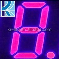 alibaba.com in russian consumer electronic OEM 1 digit 7 segment led semi-outdoor display