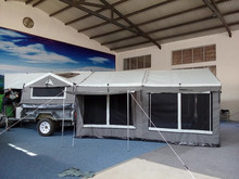 4WD camper trailer aluminium trailer tent camper trailer 4x4 For vehicle